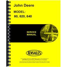 John Deere 820 Tractor Service Manual (2 Cyl w/ Pony Engine)