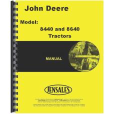 John Deere 8440 Tractor Service Manual