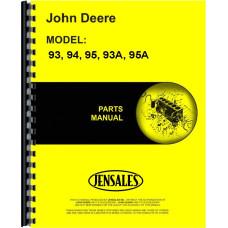 John Deere 95A Tractor Loader Backhoe Parts Manual