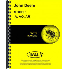 John Deere AO Tractor Parts Manual