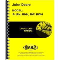 John Deere BWH Tractor Operators Manual (SN# 1000-59999)
