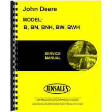 John Deere BWH Tractor Service Manual (SN# 96000 and Up, 1941 and Up)