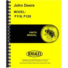 John Deere F115 Plow Parts Manual (Integral, Moldboard, 2-5 Bottom)