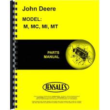John Deere MT Tractor Parts Manual