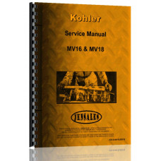 Kohler MV16, MV18 Lawn & Garden Tractor Engine Service Manual