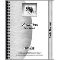 Image of Komatsu D155A-1 Crawler Parts Manual (SN# 10263-15000)