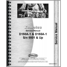 Komatsu Crawler Service Manual (KOM-S-D150A-1+)