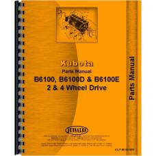 Kubota B6100 Tractor Parts Manual