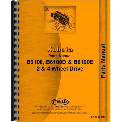 Huge Selection Of Kubota Parts And Manuals