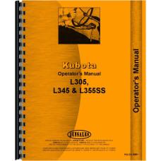 Kubota L305 Tractor Operators Manual