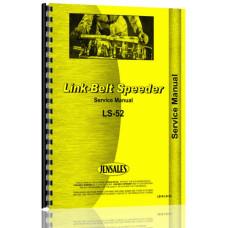 Link Belt Speeder LS-52 Drag Link or Crane Service Manual