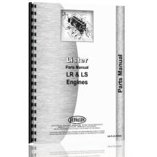 Lister LR, SR Engine Parts Manual