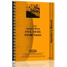 Long 510-S Tractor Operators Manual