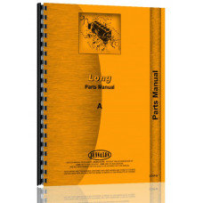 Image of Long A Tractor Parts Manual