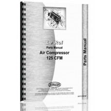 Leroi 125 Tract Air Tractor & Air Compressor Parts Manual