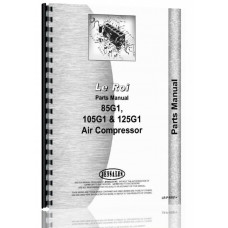 Leroi 85G1, 105G1, 125G1 Air Compressor Parts Manual