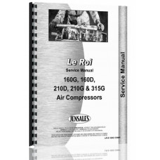 Leroi 160G Air Compressor Service Manual