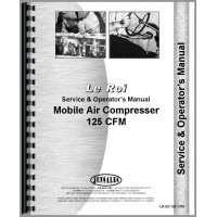 Image of Leroi 125 Tract Air Tractor & Air Compressor Service & Operators Manual