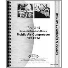 Image of Leroi 125 Tract Air Tractor & Air Compressor Service & Operators Manual