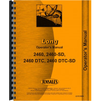 Long 2460SD-DTC Tractor Operators Manual
