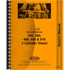 Long 460 Tractor Service Manual (1977-1991)