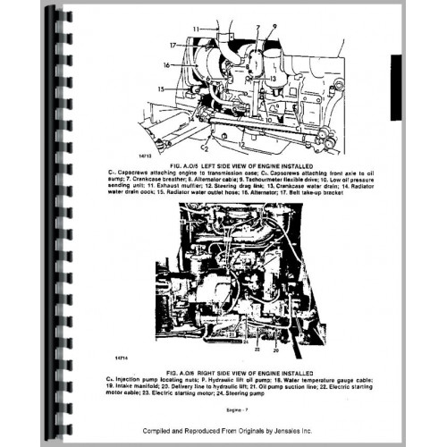 Long 460 Tractor Service Manual  1977