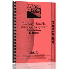 Massey Harris 33 Tractor Operators Manual