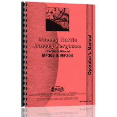 Massey Ferguson 302 Industrial Tractor Operators Manual