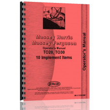 Ferguson TE20 Implements Operators Manual