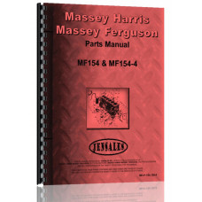Massey Ferguson 154 Tractor Parts Manual (Row Crop or Standard)