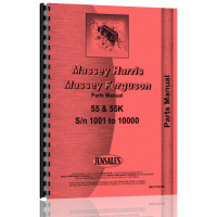 Massey Harris 55 Tractor Parts Manual (MH-P-55 55K)