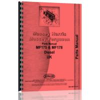 Massey Ferguson 175 Tractor Parts Manual (UK Version)