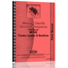 Massey Ferguson 30E Industrial Tractor Parts Manual
