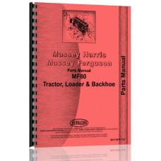 Massey Ferguson 80 Industrial Tractor Parts Manual