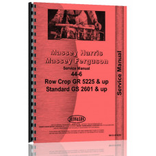 Massey Harris 44 Tractor Service Manual (1952)