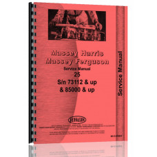 Image of Massey Harris 25 Tractor Service Manual