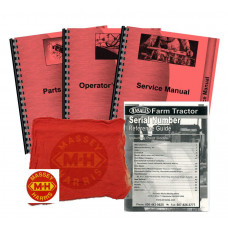 Massey Ferguson 235 Gas and Diesel Deluxe Tractor Manual Kit