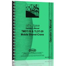 Image of Michigan Mobile Crane Operators Manual (MIC-O-TMDT-16+)