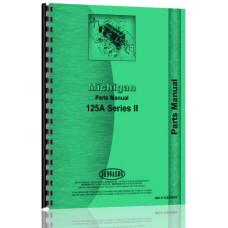 Image of Michigan 125A Wheel Loader Parts Manual