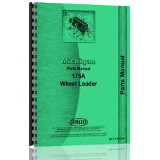 Michigan 175A Wheel Loader Parts Manual (SN# 19128D19177D and 2HB50 and Up)