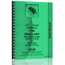 Image of Michigan 175B Wheel Loader Parts Manual (SN# 427C101 & Up, 438C101 & Up) (427C101+)
