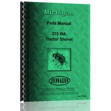 Michigan 275 IIIA Wheel Loader Parts Manual