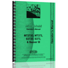 Satoh MT373, MT373D, S373, S373D Tractor Operators Manual