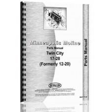 Image of Minneapolis Moline 17-28 Twin City Tractor Parts Manual