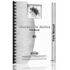 Avery BG Tractor Parts Manual (SN# R239)