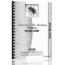 Image of Minneapolis Moline BIG MO 400M Tractor Parts Manual