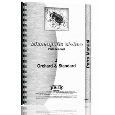Image of Minneapolis Moline J Tractor Parts Manual
