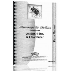 Minneapolis Moline Jet Star 2 Tractor Parts Manual (SN# R2013A)