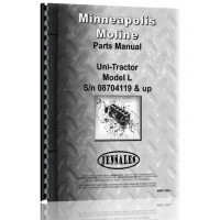 Minneapolis Moline Uni-Tractor Tractor Parts Manual (SN# 08704119 Up)