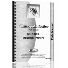 Minneapolis Moline UTI Tractor Parts Manual